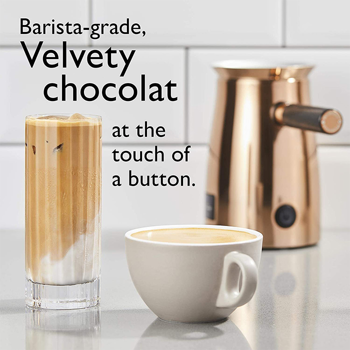 barista grade velvety choco drink