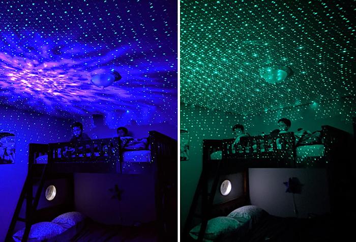 blisslights sky lite green light effects