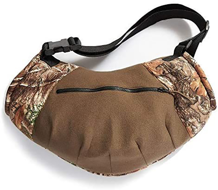 camo hand muff for hunting back