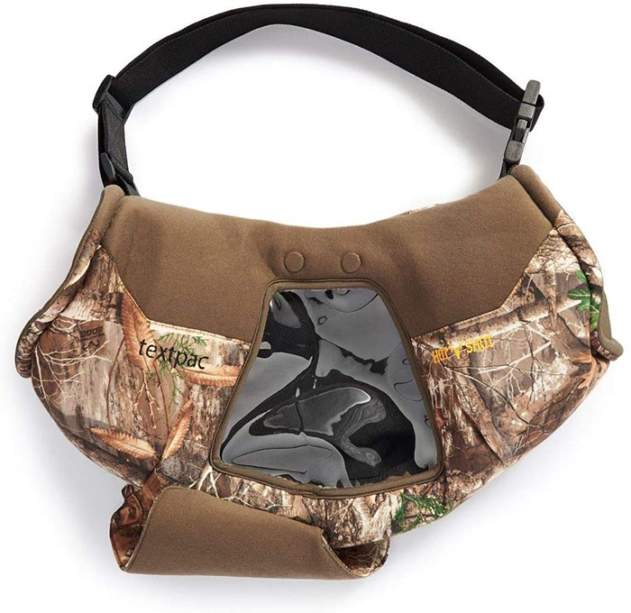 camo hand muff for hunting front