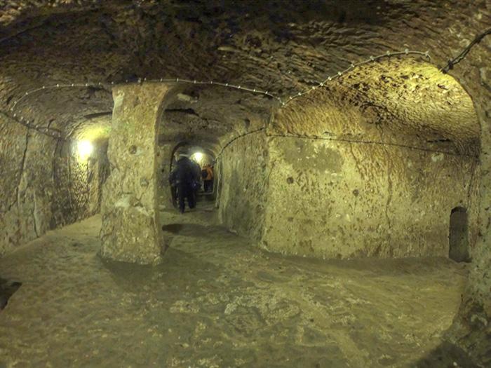 cappadocia turkey subterranean metropolis photo by nevit dilmen