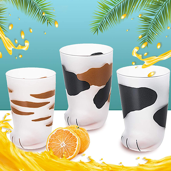 cat paw cups design variants