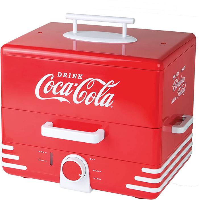coca-cola hot dog steamer collectible