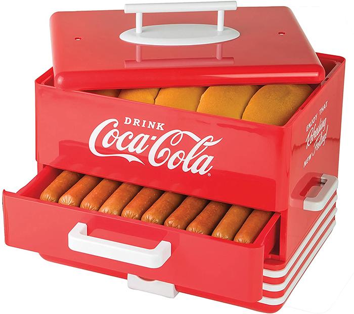 coca-cola hot dog steamer
