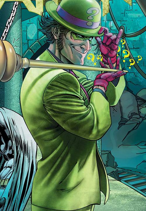 dc comics the riddler