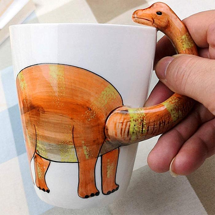 dinosaur animal coffee mugs