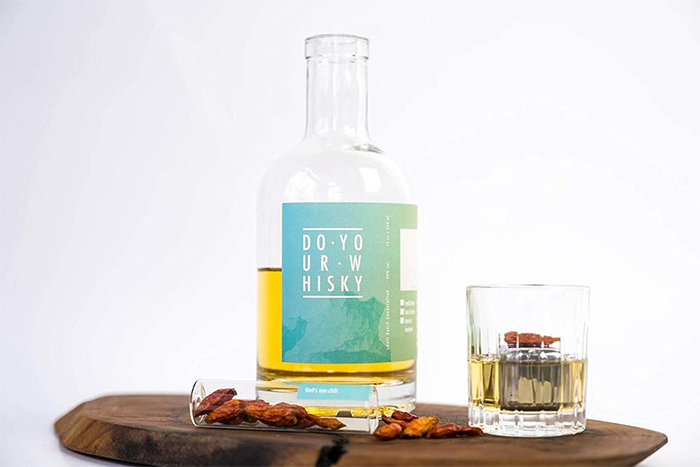 do your whisky infusion kit