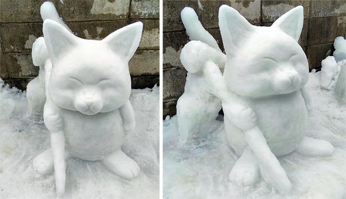 dragon ball korin sculpted ice figure