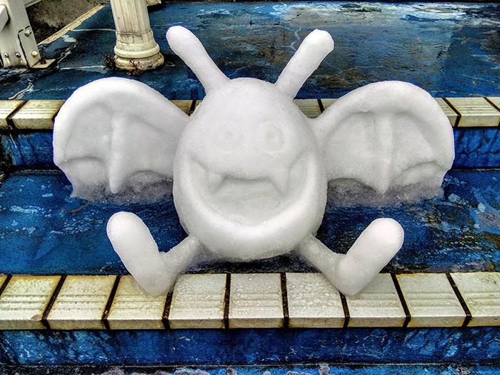 dragon quest doraki sculpted ice figure