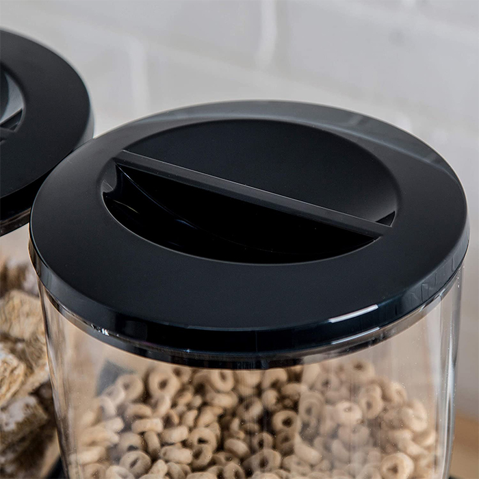 dry food canister airtight lid