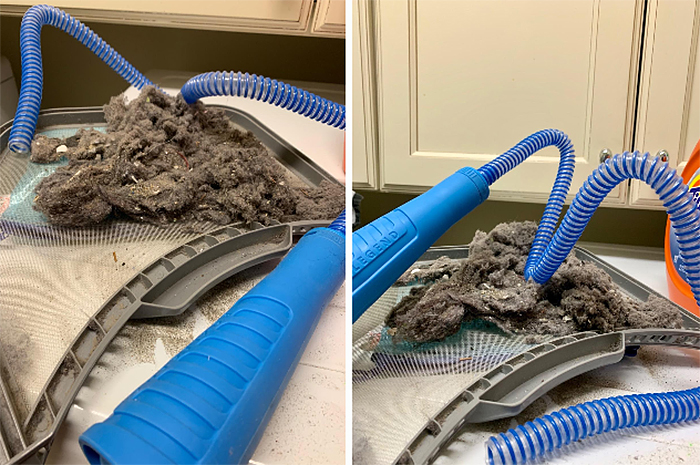 dryer vent cleaner lint removal kit