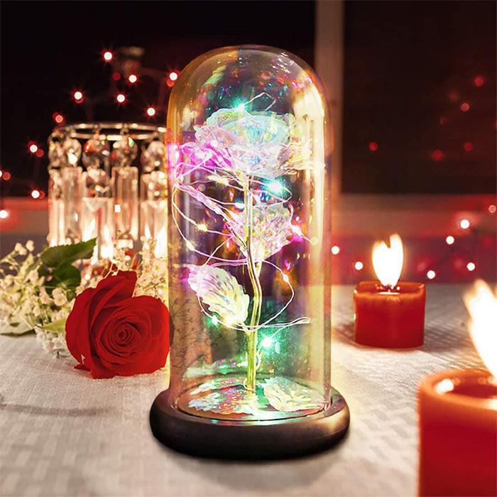 enchanted flower lamp led lights