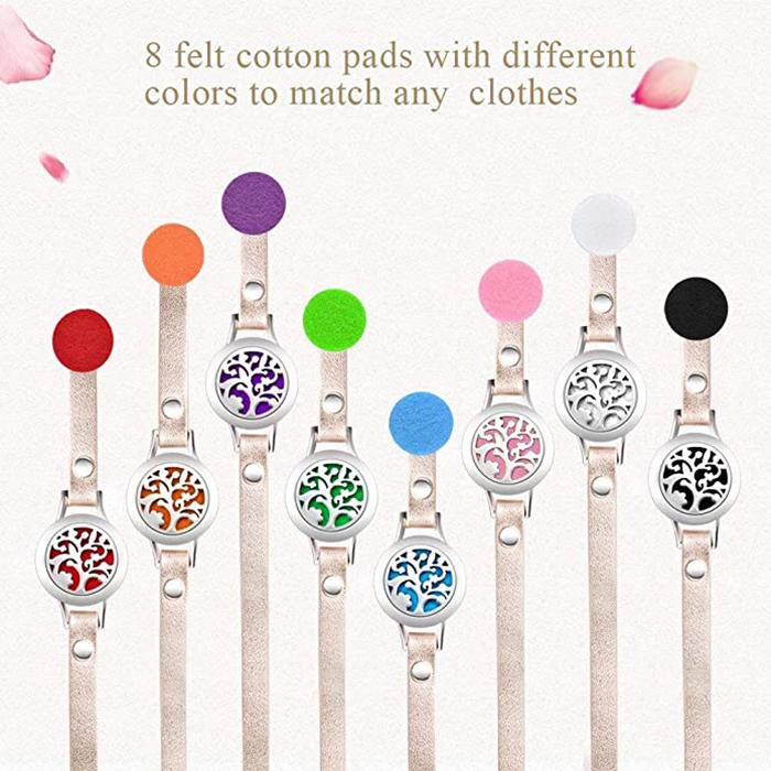 essential oil diffuser bracelet felt pads