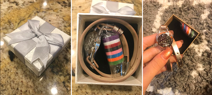essential oil diffuser bracelet gift box