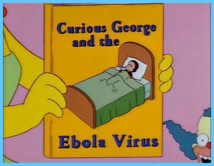 fox animated sitcom prediction ebola virus