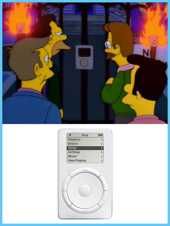 fox animated sitcom prediction first generation ipod