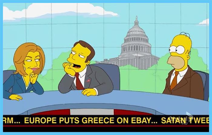 fox animated sitcom prediction greece financial crisis