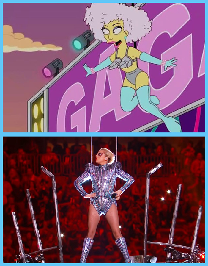 fox animated sitcom prediction lady gaga superbowl performance