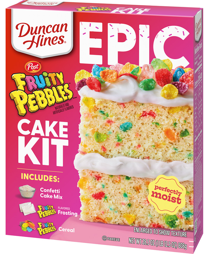 fruity pebbles cake kit