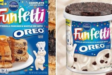 funfetti and oreo range