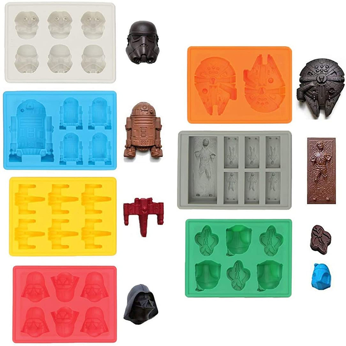 geeky silicone molds