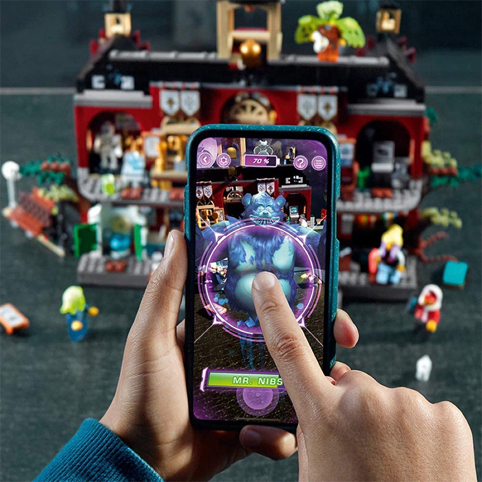 interactive augmented reality playset
