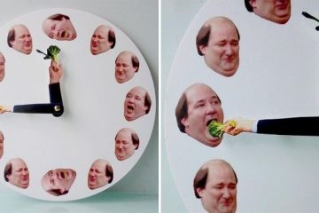 kevin hates broccoli clock
