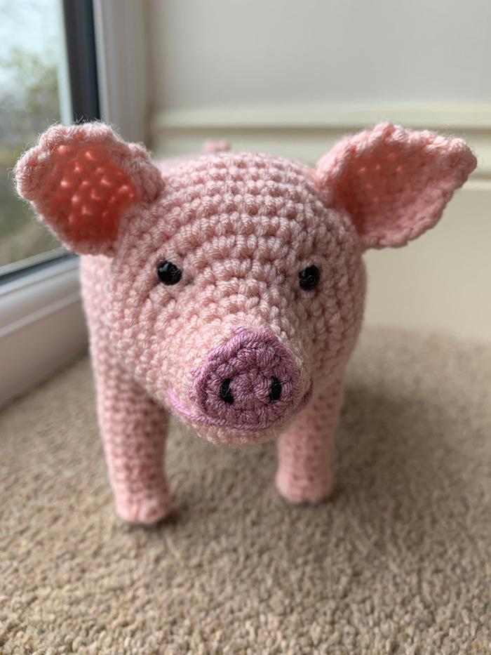 laulovescrochet knitting manual output pig face