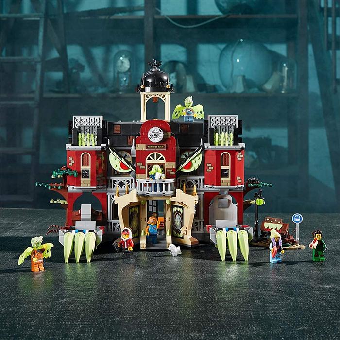lego haunted high school hidden side theme