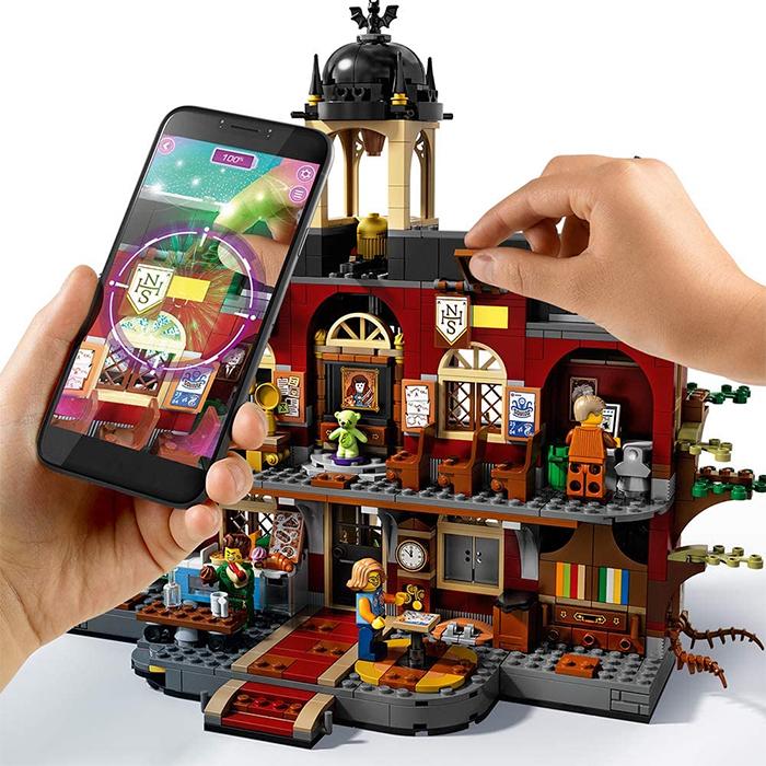 lego hidden side interactive playset
