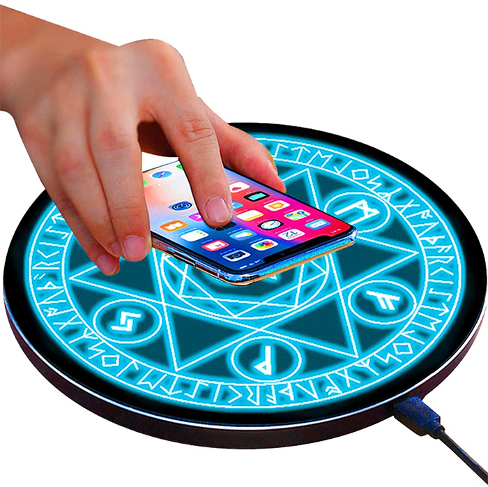 magical wireless charging pad
