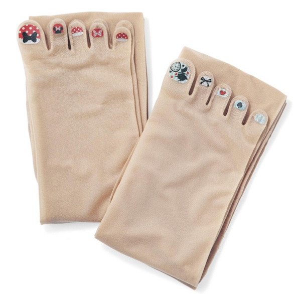 minnie and alice in wonderland stockings