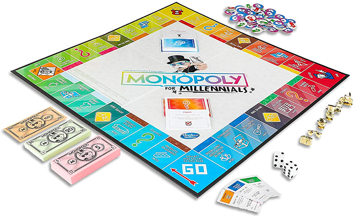 monopoly for millennials edition
