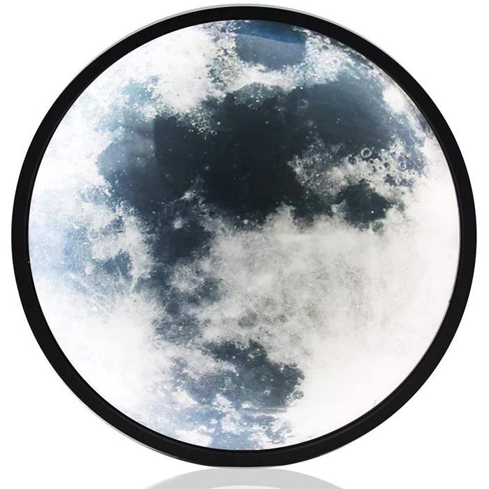 moon mirror night-light power on