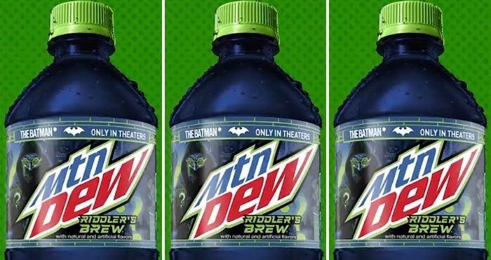 mountain dew riddler's brew