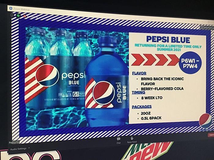 pepsi blue rumored comeback