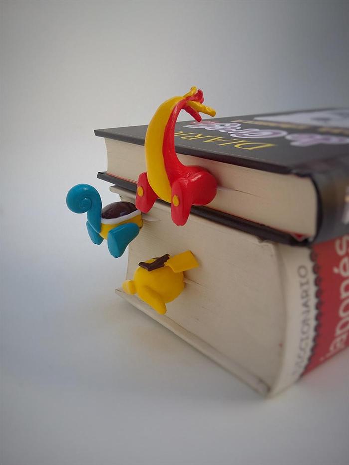 pokemon butt bookmarks cute