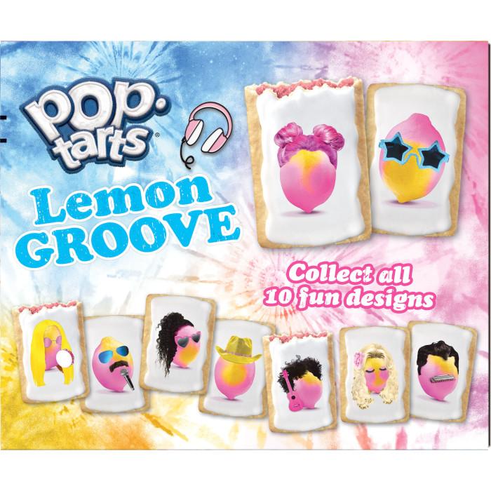 pop-tarts lemon groove 10 groovy lemon designs