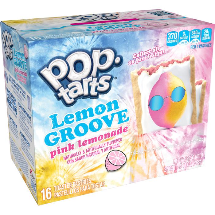 pop-tarts lemon groove 16-count box