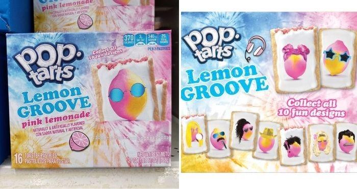 pop-tarts lemon groove