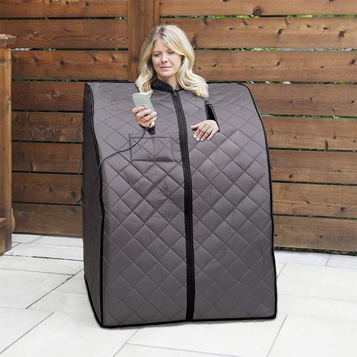 portable sauna cabin