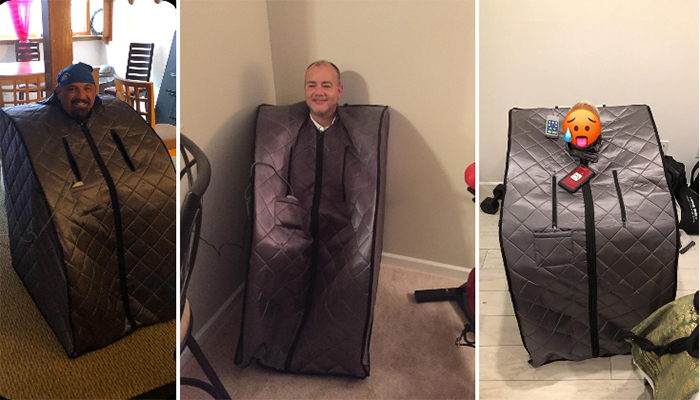 portable sauna indoor outdoor