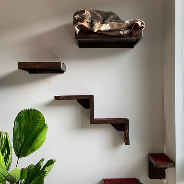 portesuelogoods wall-hanging feline perch customer review magictreehouse