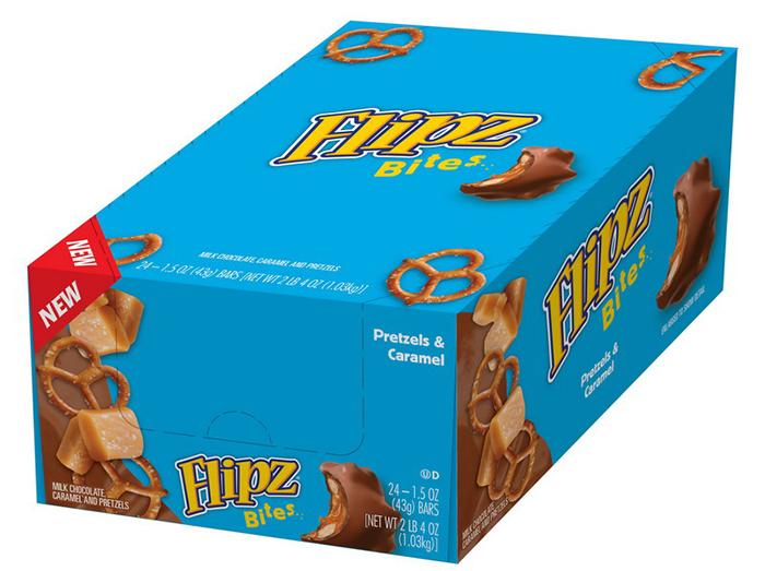 pretzel and caramel bites box of 24