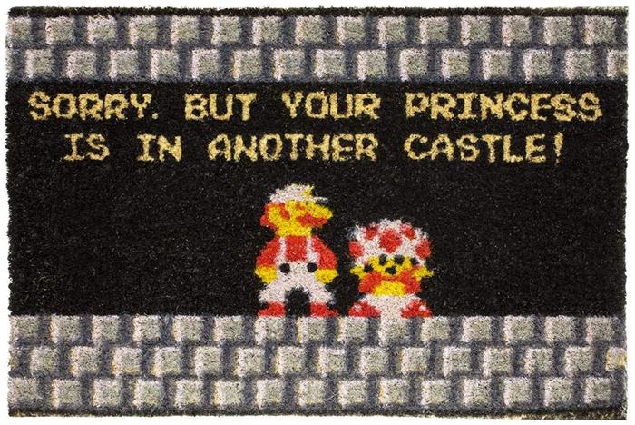 princess is in another castle doormat