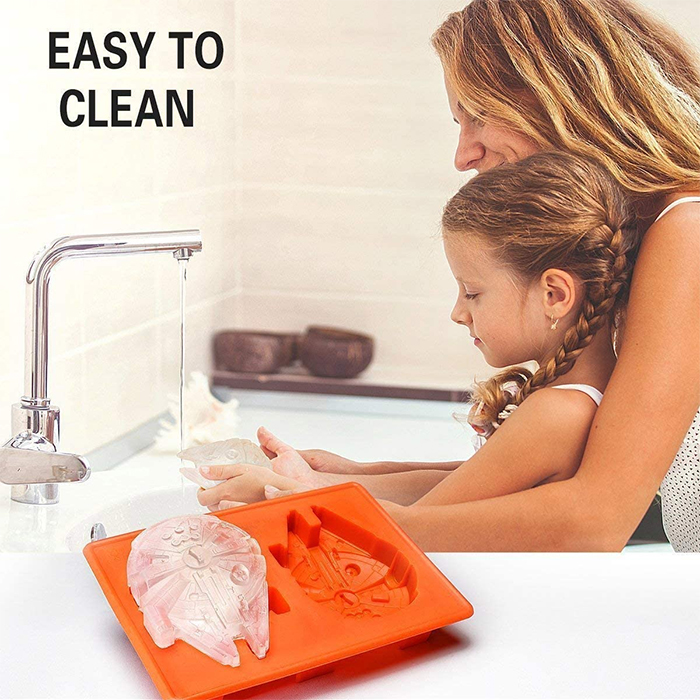 silicone molds easy to clean