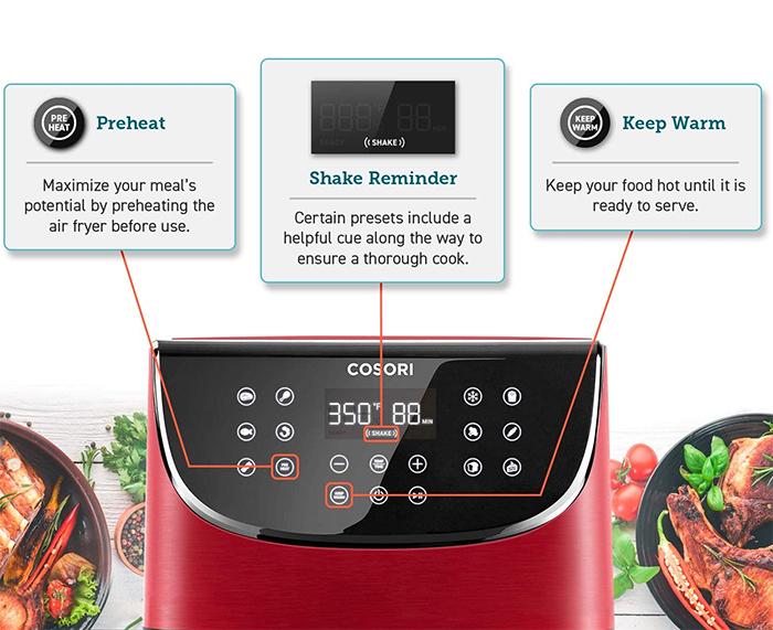smart kitchen appliance digital features