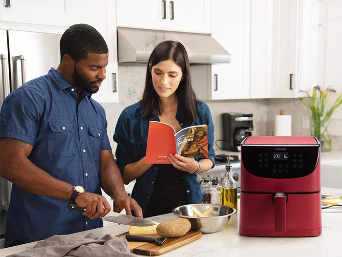 smart kitchen appliance recipe book
