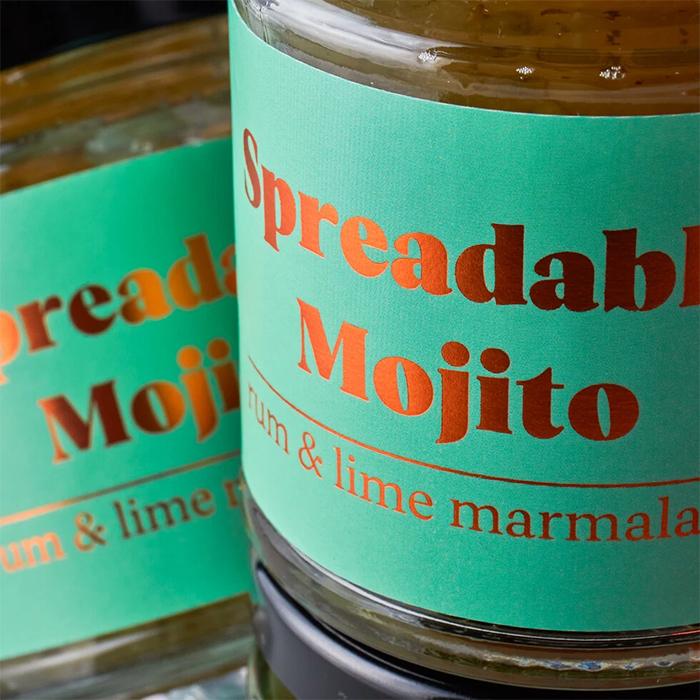 spreadable mojito marmalade