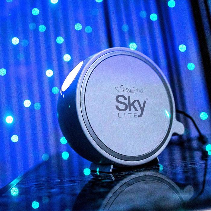 starry night sky projector blue stars